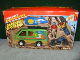 5. Fisher-Price Adventure People DareDevil Sports Van