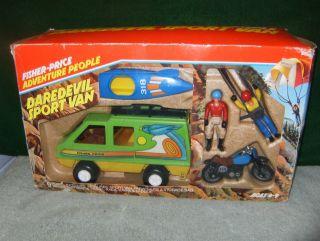 5. Fisher-Price Adventure People DareDevil Sports Van