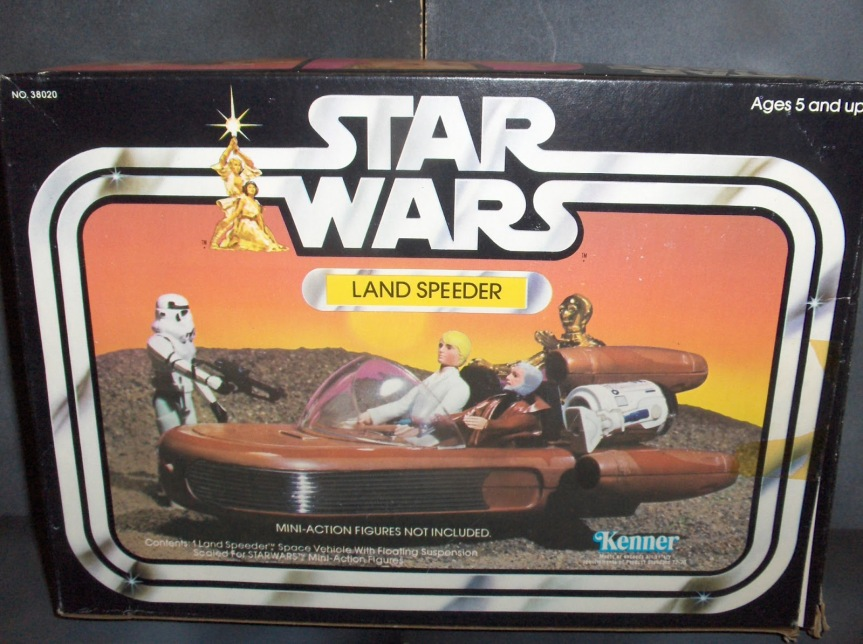 10. Star Wars Landspeeder