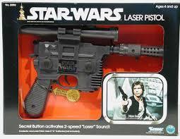 7. Star Wars Han Solo Blaster