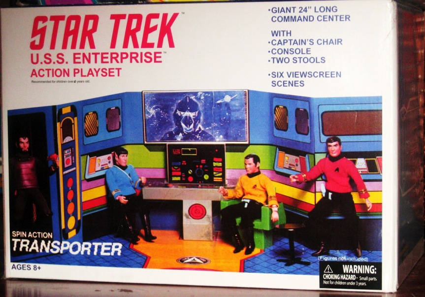 Mego Star Trek Enterprise Bridge and Crew I had all of the crew, but only a Klingon from the aliens.