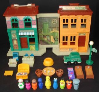 9. Fisher-Price Sesame Street Playset